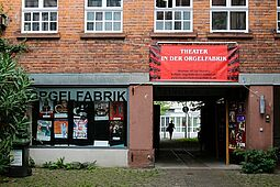 Theater in der Orgelfabrik. Foto: cg