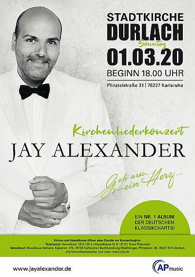 Jay Alexander – Das Herz singt mit. Grafik: pm
