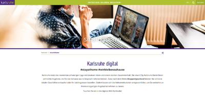 Screenshot www.karlsruhe-erleben.de/smartathome. Grafik: pm/Bearbeitung: om