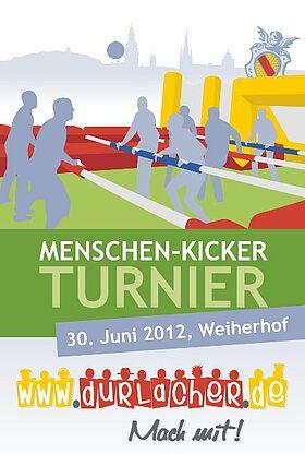 5 Jahre www.durlacher.de - Menschen-Kicker-Turnier am 30. Juni 2012