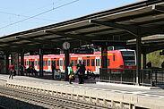Bahnhof Durlach. Foto: cg