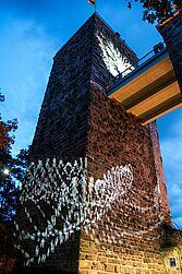 Turmberg hell erleuchtet (Archiv). Foto: cg