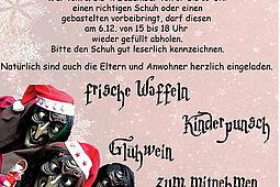 Nikolaus Stiefel Aktion der Dornwaldhexen. Grafik: pm