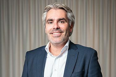 """Geschäftsführer von Vorreiter Consulting ist Marcus Fränkle, Eigentümer des Hotels """"Der Blaue Reiter"""" in Durlach und bestens vernetzter Branchenkenner. Foto: pm"""
