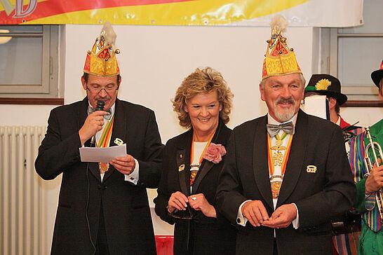 11 4 x 11 Jahre OKDF - In der Kampagne 2011/12 feiert das Organisationskomitee Durlacher Fastnacht (OKDF) Jubiläum. (32 Fotos)