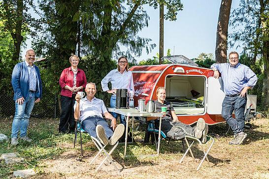 18 Besuch auf der Baustelle: Campingplatz Durlach - Seit drei Jahren geschlossen, soll bald der provisorische Betrieb des Durlacher Campingplatzes wieder aufgenommen werden. (1 Video)