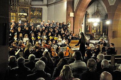 Chor St. Peter und Paul Durlach. Foto: pm