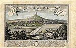 Blick auf Durlach, 1720er Jahre