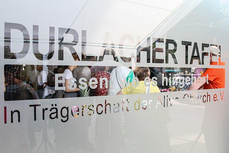 Durlacher Tafel weiterhin für ihre Kunden da! Foto: cg