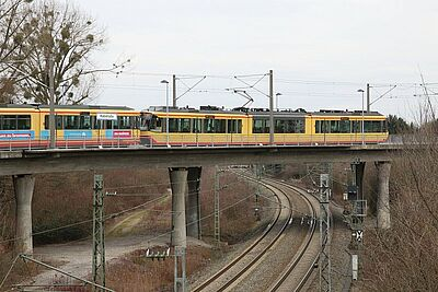 "Haltestelle ""Hubstraße"". Foto: cg"