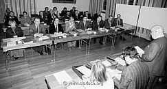 1. Ortschaftsratssitzung, 1989. Foto: guh