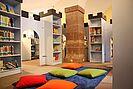 Stadtteilbibliothek Durlach. Foto: Christine Gustai (cg)