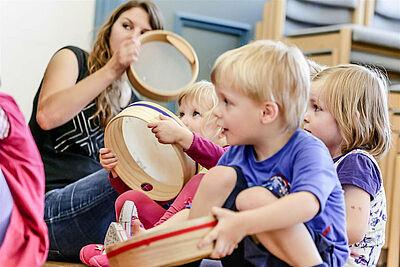 Kinderkurse des Musikforums Durlach. Foto: pm