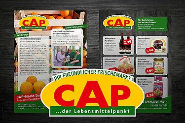 CAP-Markt Durlach: Angebote im Dezember 2020. Grafik: pm
