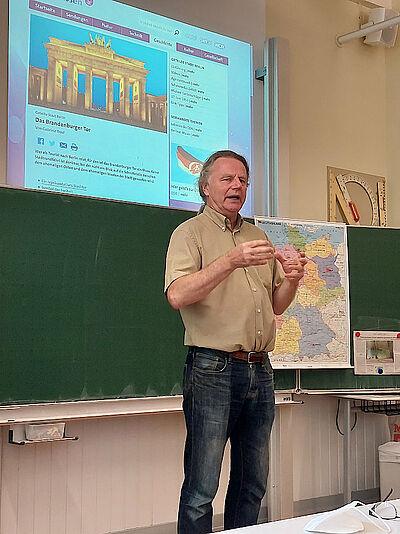 Siegbert Schefke zu Gast in der Pesta. Foto: pm