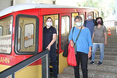 Eine ganz besondere Fahrt mit der Turmbergbahn. Foto: pm