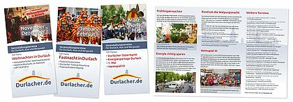 """Termine druckfrisch und aktuell: Der """"Durlacher Flyer"""""""