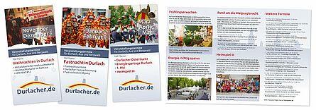Durlacher Flyer. Grafik: cg