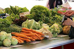 Wochenmarkt Durlach – mehr erfahren