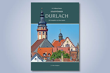 """Der """"Stadtführer Durlach"""" von Wolfgang Wegner und Klaus Eppele. Grafik: pm"""