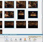 Screenshot: Export von mehreren Bildern