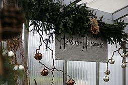Adventwochen der HWK Gärtnerei. Foto: cg
