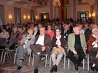 Zahlreiche Durlacher Bürger in der Karlsburg