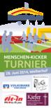Menschen-Kicker-Turnier 2014 | Flyer