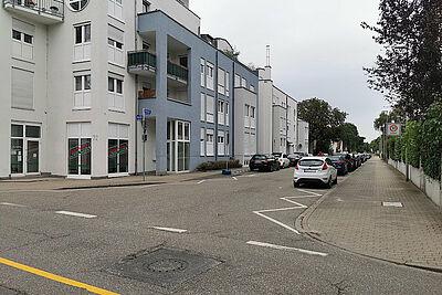 Ecke Pfinzstraße / Hubstraße. Foto: om