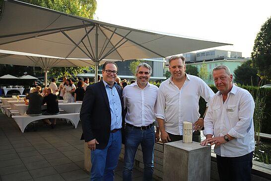 """25 Citymanager Frank Theurer zu Gast bei KA-PF - """"Was tut die City-Initiative für Handel, Handwerk und andere Dienstleister?"""" – Vortrag beim Kompetenz-Netzwerk KA-PF. (24 Fotos)"""