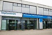 Zentrales Impfzentrum (ZIZ) Messe Karlsruhe. Foto: cg