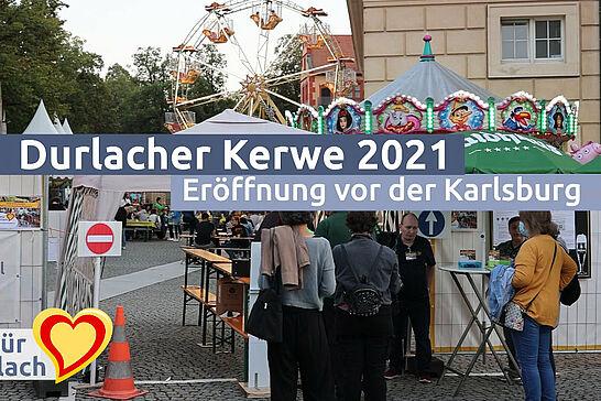 17 | Eröffnung der Durlacher Kerwe - Endlich wieder Kerwe vor der Karlsburg! Wir waren bei der Eröffnung des Durlacher Traditionsfestes dabei. (1 Video)