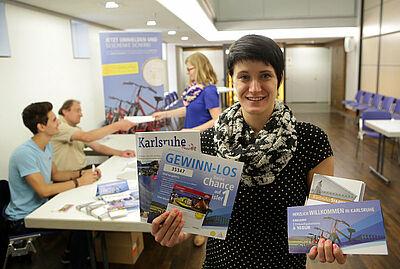 Erstwohnsitzkampagne in Karlsruhe. Foto: jodo/Stadtmarketing Karlsruhe GmbH