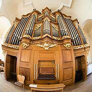 Stumm|Goll-Orgel der evangelischen Stadtkirche Durlach. Foto: cg