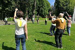 Gemeinsamer Sport wird unter den Hygienebestimmungen auch in Durlach wieder durchgeführt. Foto: om
