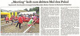 Bericht in der BNN vom 30. Juni 2014