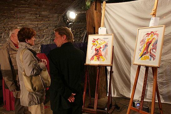 08 Kunst für die gute Sache - Teilnehmende Künstler der Durlacher Vernissage unterstützten den Förderverein Humanitäre Botschaft. (6 Fotos)