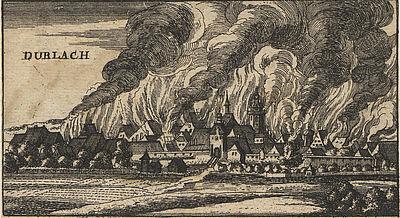 Der große Brand von 1689