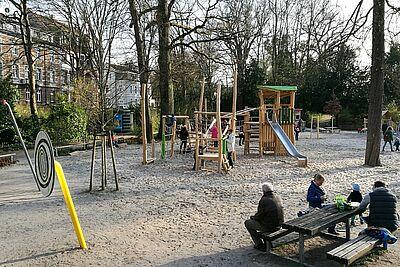 Kinderspielplatz wird wiedereröffnet. Foto: om