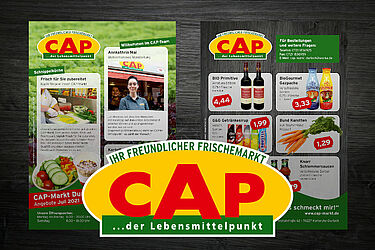 CAP-Markt Durlach: Angebote im Juli 2021. Grafik: pm
