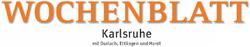 Wochenblatt - Karlsruhe mit Durlach, Ettlingen und Hardt