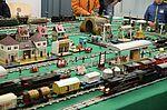 Spielzeugeisenbahnen in Betrieb. Foto: cg