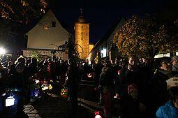 Sankt-Martins-Umzug in Durlach 2018. Foto: cg