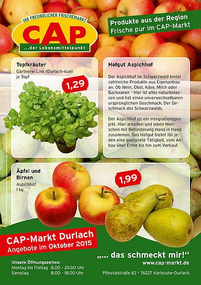 CAP-Markt: Angebote im Oktober 2015