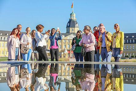 Karlsruhe zu Fuß entdecken - Stadtführungen der KTG Karlsruhe Tourismus GmbH