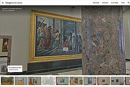 kultur@home – mit der Staatlichen Kunsthalle Karlsruhe und ihren 360-Grad-Rundgängen (Screenshot). Quelle: Google Arts & Culture