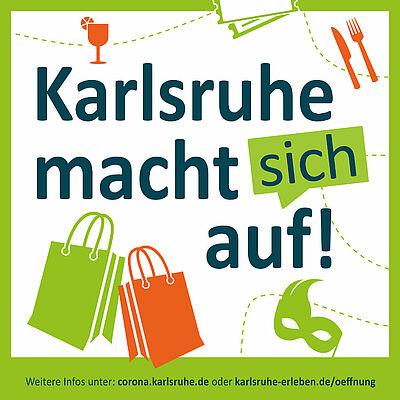 Karlsruhe macht sich auf! Grafik: pm
