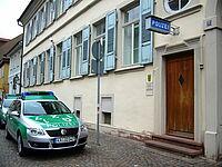 Polizeirevier Durlach, Amthausstraße