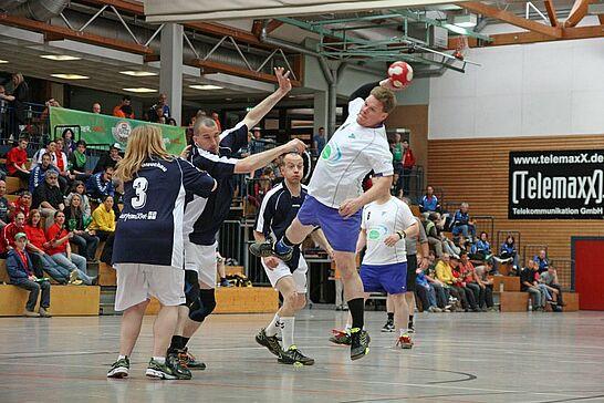 """09 Heimspiel III - Zum dritten Mal veranstaltete die Turnerschaft Durlach das inklusive Handballturnier """"Heimspiel III"""". (146 Fotos)"""