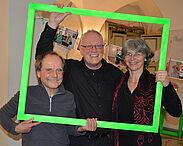 In Durlach bekannt als Cherrys Band (v.l.): Harald Braun, Otto Reif und Pia Oberacker-Pillick. Foto: pm